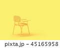 椅子 チェア いすのイラスト 45165958