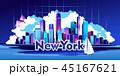都市 バックグラウンド バックグランドのイラスト 45167621