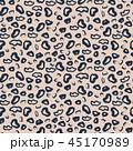Leopard pattern design violet purple spots abstract seamless print. 45170989