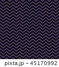 Chevron seamless pattern background gold thin stripes on blue. 45170992