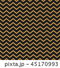 Chevron vector seamless pattern background gold thin lines on black. 45170993