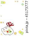 亥の土鈴のテンプレート 45173777