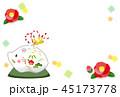 亥の土鈴のテンプレート 45173778