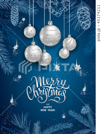 Merry Christmas decoration 2019 45174211