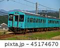 列車 電車 クハ104の写真 45174670