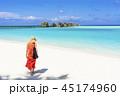 インド洋のリゾートイメージ 45174960