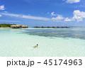 インド洋のリゾートイメージ 45174963