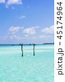 インド洋のリゾートイメージ 45174964