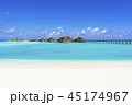 インド洋のリゾートイメージ 45174967