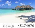 インド洋のリゾートイメージ 45174970