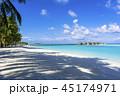 インド洋のリゾートイメージ 45174971