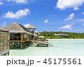 インド洋のリゾートイメージ 45175561
