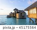 インド洋のリゾートイメージ 45175564