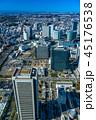 横浜 みなとみらい 都市風景の写真 45176538