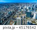 横浜 みなとみらい 都市風景の写真 45176542