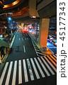 溝田橋交差点の風景(夜景) 45177343