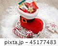 ブーツ チョコレート クリスマスツリーの写真 45177483