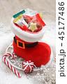 ブーツ クリスマス チョコレートの写真 45177486