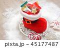 ブーツ チョコレート クリスマスツリーの写真 45177487