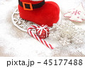 ブーツ クリスマス クリスマスツリーの写真 45177488