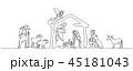 場面 シーン 画面のイラスト 45181043