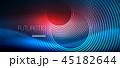 ネオン 円 丸のイラスト 45182644