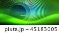 ネオン 円 丸のイラスト 45183005