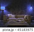 インテリア ライト 光のイラスト 45183975