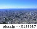 都市風景と富士山/池袋と新宿副都心、2018撮影 45186937