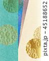 菊 雪輪 背景のイラスト 45188652