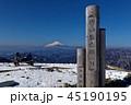 富士山 冬 塔ノ岳の写真 45190195