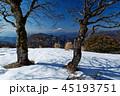 富士山 鍋割山 冬の写真 45193751