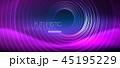 ネオン 円 丸のイラスト 45195229