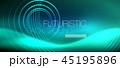 ネオン 円 丸のイラスト 45195896