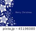 ポインセチア クリスマス クリスマスカードのイラスト 45196080