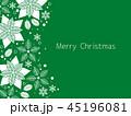 ポインセチア クリスマス クリスマスカードのイラスト 45196081
