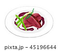 肉料理 イラスト おしゃれ 45196644