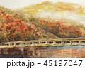 嵐山 秋 紅葉 京都 スケッチ 45197047