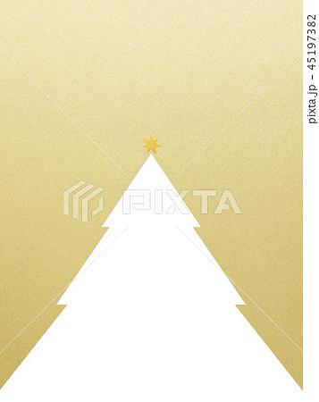 背景-クリスマス-ツリー-星-ゴールド 45197382