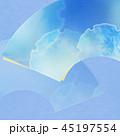 和柄 背景 青のイラスト 45197554