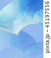 和柄 背景 青のイラスト 45197556