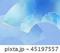 和柄 背景 青のイラスト 45197557