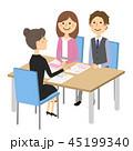 夫婦 打ち合わせ 商談のイラスト 45199340