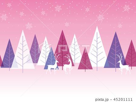 シームレスなクリスマスの背景 45201111