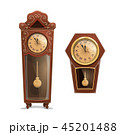 時計 ベクトル 見るのイラスト 45201488