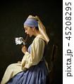 レトロ 女 女性の写真 45208295