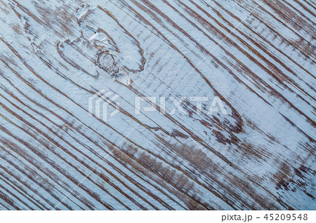 Messy vintage wooden background top view 45209548