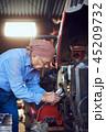 男性 人物 エンジニアの写真 45209732