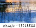 水 夕日 夕焼の写真 45213588