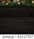 クリスマス 背景 飾りのイラスト 45217707